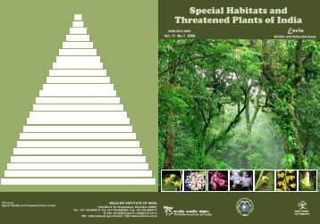 Special Habitats and Threatened Plants of India - India Environment ...