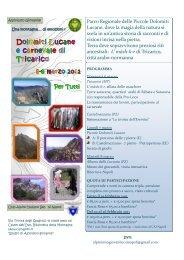 Dolomiti Lucane e carnevale di Tricarico - CAI Sezione di Napoli
