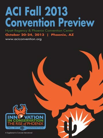 ACI Fall 2013 Convention Preview