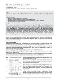 Osteoartrit ve non-inflamatuar artritler (Doç. Dr. Bülent Atilla)