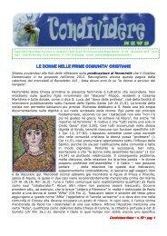 CondividereNews_novembre_2012 - Suore Domenicane della ...