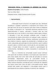 EDUCAÇÃO FISCAL E CIDADANIA SE APRENDE ... - edfiscaltoledo