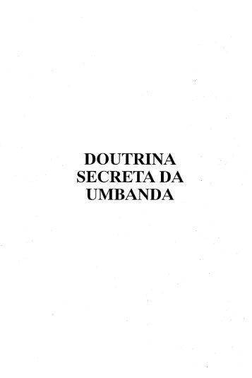 DOUTRINA SECRETA DA UMBANDA - Escoladaluz.com.br
