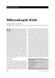 Mikroskopik Kolit - Güncel Gastroenteroloji
