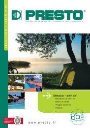 brochure Selection Plein Air - Green Loisirs