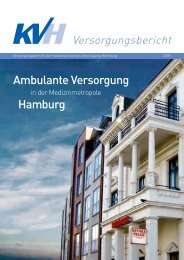 KVH Versorgungsbericht 2008 - Kassenärztliche Vereinigung ...