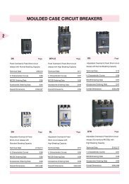 Air Circuit Breakers Electrical And Electronics Division