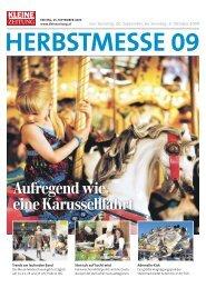 Ausstellerverzeichnis Herbstmesse 09 - Messe Graz