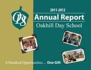 Annual Report - Oakhill Day School