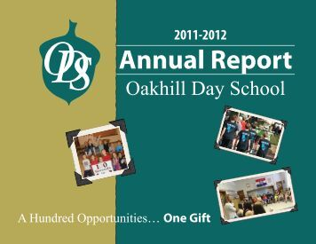 Annual Report - Oakhill Day School