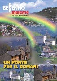 Bollettino Berbenno Insieme anno XXVI numero 1 - Oratorio di ...
