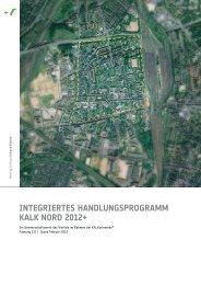 Integriertes Handlungsprogramm Kalk Nord ... - Montag Stiftungen