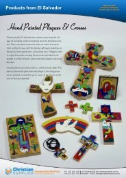 Hand Painted Plaques & Crosses - Christian Supplies