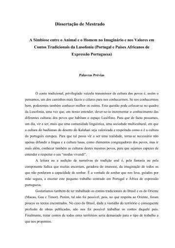 Dissertação de Mestrado - Universidade Aberta
