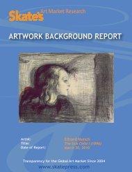 ARTWORK BACKGROUND REPORT - Skate's Art Market Research