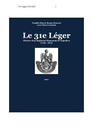 Le 31e Léger - Societa italiana di storia militare