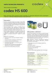 codex HS 600 - Uzin Utz AG