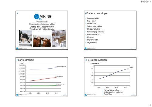 Bilag fra repræsentantskabsmøde - Viking Genetics