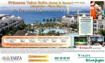 Princesa Yaiza Suite Hotel & Resort ***** LUJO - Viajes El Corte ...