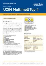 UZIN Multimoll Top 4 - Uzin Utz AG