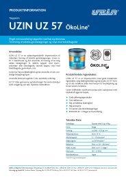 UZIN UZ 57 ÖkoLine - Uzin Utz AG