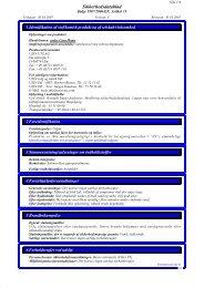 Sikkerhedsdatablad - Uzin Utz AG