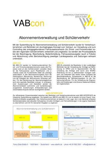 VABcon - VAB Berlin