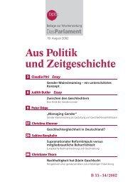 Gender Mainstreaming - Bundeszentrale für politische Bildung