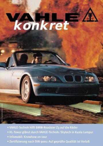 VAHLE konkret 1997