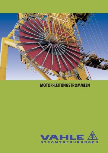 Katalog Motorleitungstrommeln - Vahle