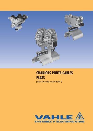 CHARIOTS PORTE-CABLES PLATS - Vahle