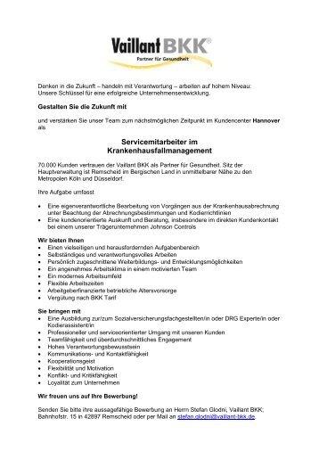 Wiesbaden Stellenausschreibung