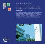 MTU Aero Engines - VALyou Software GmbH