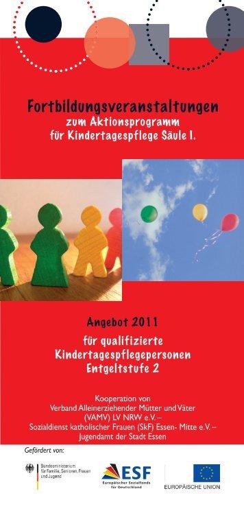 Fortbildungsveranstaltungen - Vamv-nrw.de