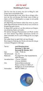 Fortbildungsveranstaltungen - Vamv-nrw.de - Seite 3