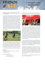 FoME Newsletter Vol 100.indd