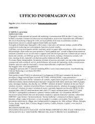 UFFICIO INFORMAGIOVANI - Comune di Santa Teresa di Riva