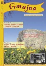Općina Čavle Petnaest godina razvoja i vidljivih rezultata