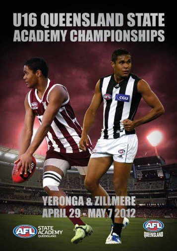 Match program - AFL Queensland