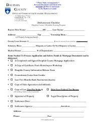 First-Time Homebuyer Mortgage Application Packet - Dauphin County