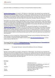 David Glick Realtor and SEOMiracle.com Partner To Promote ...