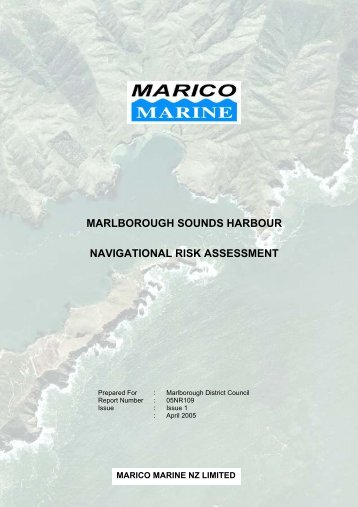 marlborough sounds harbour - Marine Transport Association New ...