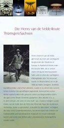 finden Sie einen Flyer mit weiteren Informationen - Henry van de ...