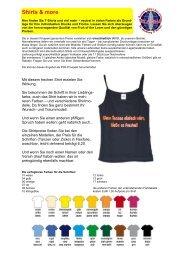 Shirts & more - Wilkommen beim GEKA - Team