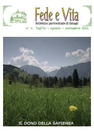 2011 04. Fede e Vita - luglio-agosto - Parrocchia S. Stefano di Osnago