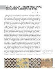 visual identity e disegno ornamentale - La scuola di Pitagora editrice