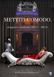 l'eredita' di zia gesuina - Teatro Antonio Belloni