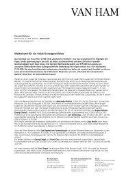 Nachbericht - VAN HAM Kunstauktionen