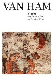 Teppiche Rugs and Carpets 30. Oktober 2010 - VAN HAM ...