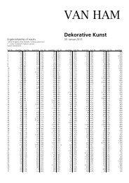 Ergebnisliste - VAN HAM Kunstauktionen